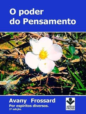 cover image of O Poder do Pensamento