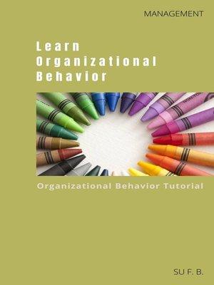 cover image of Learn Organizational Behavior