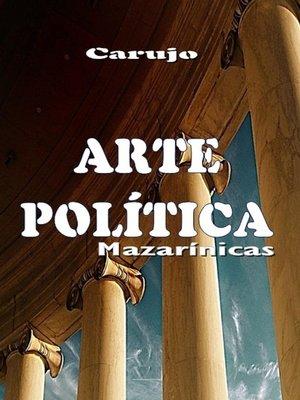cover image of ARTE POLÍTICA