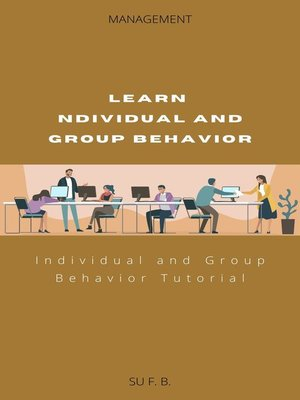 cover image of Learn Individual and Group Behavior