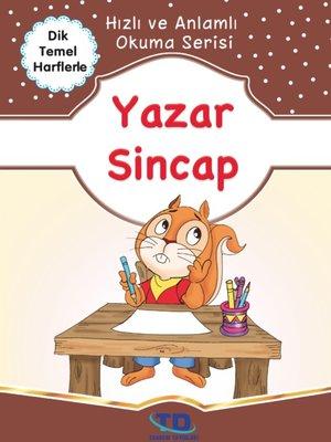 cover image of Yazar Sincap
