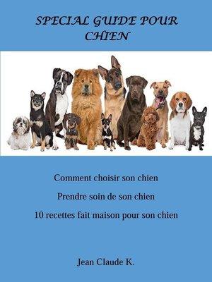 cover image of Spécial Guide Pour Chien