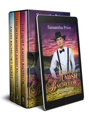 cover image of Seven Amish Bachelors Boxed Set Books 5-7
