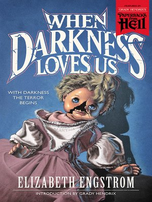 cover image of When Darkness Loves Us
