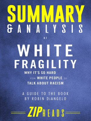 cover image of Summary & Analysis of White Fragility