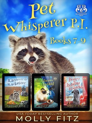 cover image of Pet Whisperer P.I. Books 7-9 Special Boxed Edition