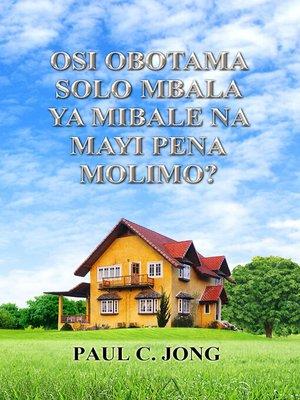 cover image of OSI OBOTAMA SOLO-SOLO MBALA YA MIBALE NA MAYI PENA MOLIMO?