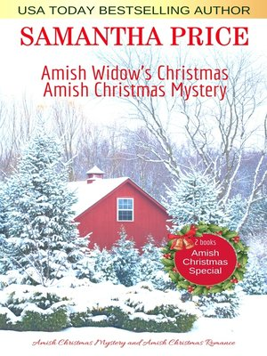 cover image of Amish Christmas Special. 2 books in 1
