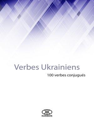 cover image of Verbes ukrainiens