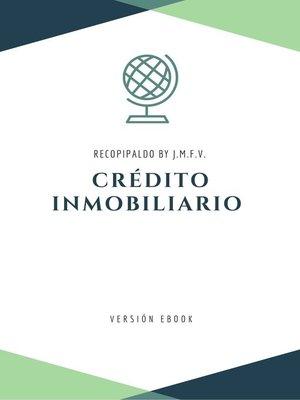 cover image of Contratos de crédito inmobiliario