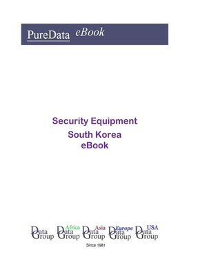 cover image of Security Equipment in South Korea