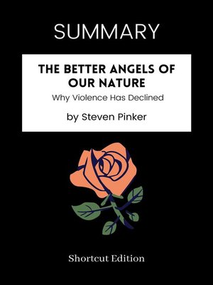 cover image of SUMMARY--The Better Angels of Our Nature