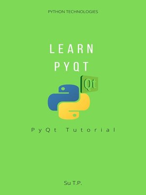 cover image of Learn PyQt