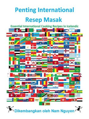 cover image of Penting International Resep Masak