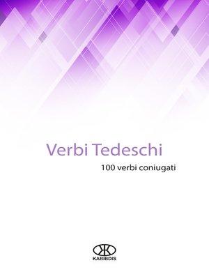 cover image of Verbi tedeschi