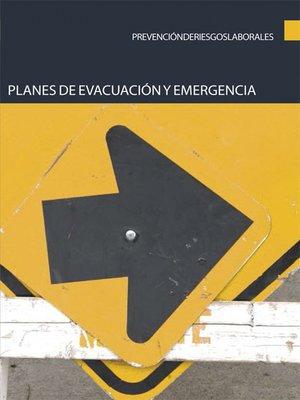 cover image of Planes de evacuación y emergencia