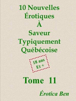 cover image of Érotica Ben le onzième