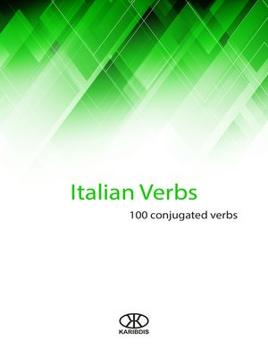 cover image of Italian verbs