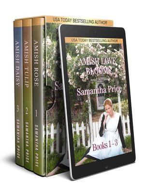 cover image of Amish Love Blooms Boxed Set Books 1--3