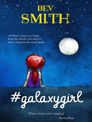 cover image of #galaxygirl, Book 1