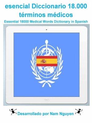 cover image of Esenciales 18000 Palabras Diccionario en español