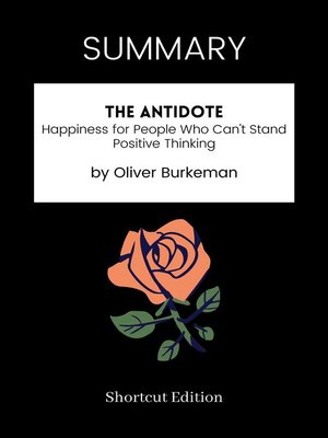 cover image of SUMMARY--The Antidote