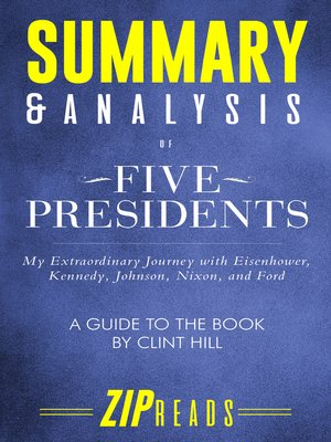 cover image of Summary & Analysis of Five Presidents