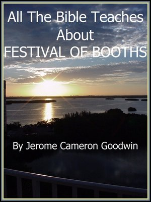 cover image of FESTIVAL OF BOOTHS