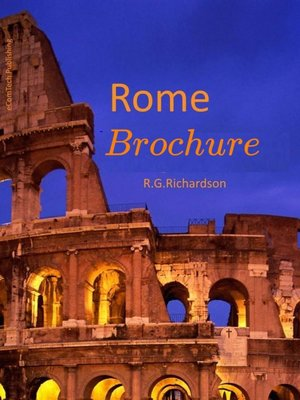 cover image of Rome Brochure