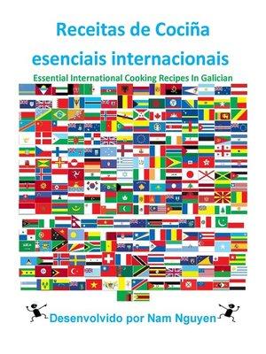 cover image of Receitas de Cociña esenciais internacionais