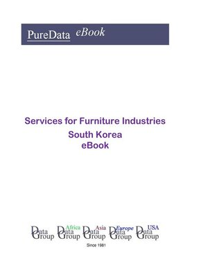 cover image of Services for Furniture Industries in South Korea