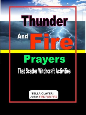 cover image of Thunder and Fire Prayers that Scatter Witchcraft Activities