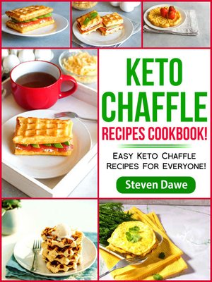 cover image of Keto Chaffle Recipes Cookbook