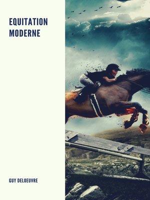 cover image of Equitation Moderne