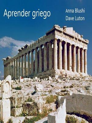cover image of Aprender el griego