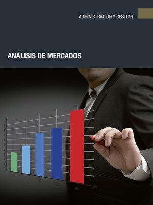 cover image of Análisis de mercados