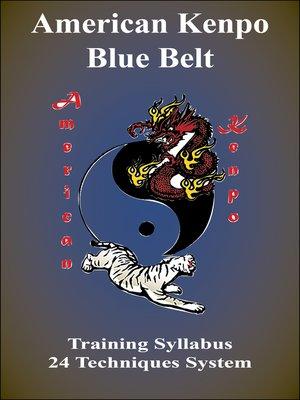 cover image of American Kenpo Blue Belt Training Syllabus