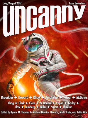 cover image of Uncanny Magazine Issue 17