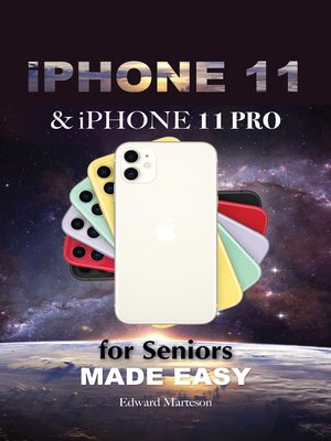 cover image of iPhone 11 & iPhone 11 Pro for Seniors