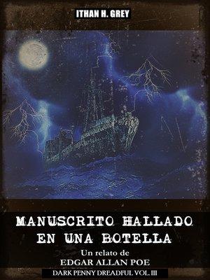 cover image of Manuscrito Hallado en una Botella