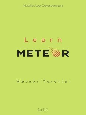 cover image of Learn Meteor