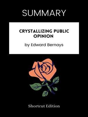 cover image of SUMMARY--Crystallizing Public Opinion