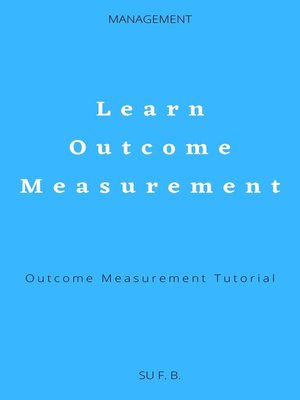 cover image of Learn Outcome Measurement
