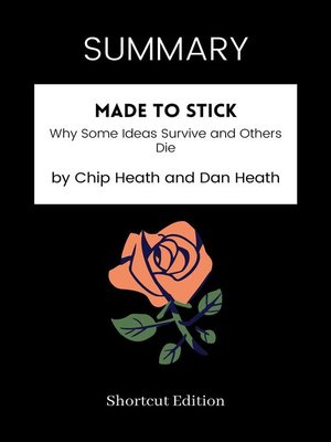cover image of SUMMARY--Made to Stick