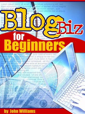 cover image of Blog Biz For Beginners