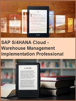 cover image of SAP S/4HANA Cloud--Warehouse Management Implementation Professional Resume Publishing