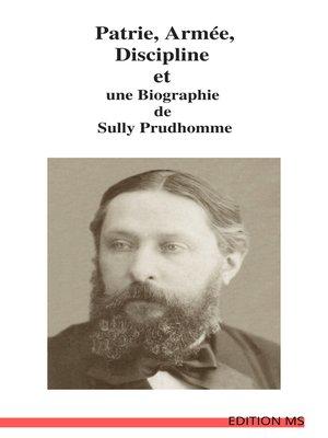 cover image of Patrie, Armée, Discipline
