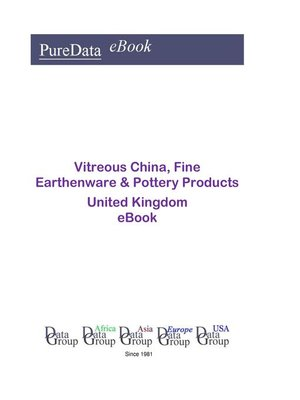 cover image of Vitreous China, Fine Earthenware & Pottery Products in the United Kingdom