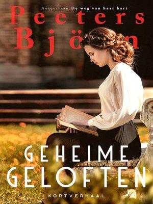 cover image of Geheime geloften