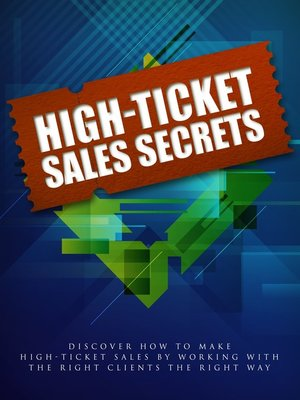 cover image of High Ticket Sales System